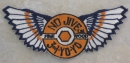 "Winged ""No Jive"" Patch"