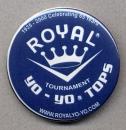Royal Yo-Yo Tops Button
