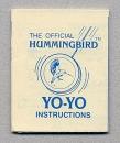 Yo-Yo Instructions sheet