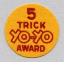 5 Trick Yo-Yo Award patch