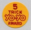 5 Trick Yo-Yo Award