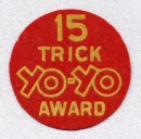 15 Trick Yo-Yo Award patch