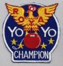 Yo-Yo Champion patch