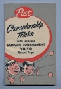 Post Championship Tricks