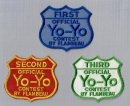 Official award patch set