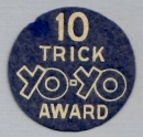 10 Trick Yo-Yo Award