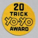 20 Trick Yo-Yo Award