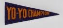 Yo-Yo Champion pennant