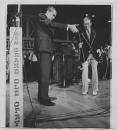 Richard Nixon yo-yos with Roy Acuff