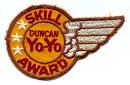 Skill Award wing - 3 star