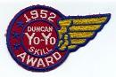 1952 Skill Award wing