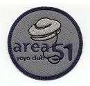 Area 51 YoYo Club patch